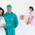 orvosok · megvizsgál · beteg · szoba · kórház · nő - stock fotó © wavebreak_media