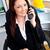hırslı · işkadını · konuşma · telefon · ofis - stok fotoğraf © wavebreak_media
