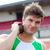 концентрированный · мужчины · спортсмена · веса · стадион · человека - Сток-фото © wavebreak_media