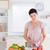 gorgeous woman cutting vegetables in the kitchen stock photo © wavebreak_media