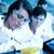 jungen · Wissenschaftler · Flüssigkeit · Test · Rohre · Partner - stock foto © wavebreak_media
