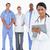 女性 · 医師 · クリップボード · 同僚 · 後ろ · 白 - ストックフォト © wavebreak_media
