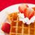 mitad · corte · fresa · crema · batida · blanco · placa - foto stock © wavebreak_media