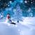 пейзаж · покрытый · снега · бледный · небе · лес - Сток-фото © wavebreak_media