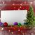 albero · di · natale · rosso · copia · spazio · decorato · molti · presenta - foto d'archivio © wavebreak_media