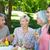 rodziny · piknik · uśmiech · człowiek · szczęśliwy - zdjęcia stock © wavebreak_media