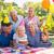 mutlu · aile · çocuklar · piknik · mutlu · mutlu · yıllar · parti - stok fotoğraf © wavebreak_media