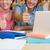 студентов · столе · используя · ноутбук · библиотека · компьютер - Сток-фото © wavebreak_media