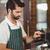 barista · süt · kahvehane · çalışmak · Sunucu - stok fotoğraf © wavebreak_media