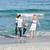 陽気な · 家族 · 徒歩 · 砂 · ビーチ · 愛 - ストックフォト © wavebreak_media