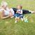 risonho · mãe · criança · parque · família · menina - foto stock © wavebreak_media