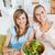 女性 · 食べ · サラダ · リビング · 食品 · 健康 - ストックフォト © wavebreak_media