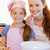 sorridere · madre · figlia · ingredienti · cookies · ragazza - foto d'archivio © wavebreak_media