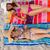 görmek · iki · kadın · bakıyor · kamera · gülümsüyor · plaj - stok fotoğraf © wavebreak_media