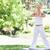 genç · kadın · yoga · açık · havada · spor · güzellik · yaz - stok fotoğraf © wavebreak_media