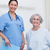 pacjenta · posiedzenia · bed · szpitala · zdrowia · pokój - zdjęcia stock © wavebreak_media