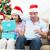 детей · открытие · Рождества · представляет · веселый · счастливым - Сток-фото © wavebreak_media
