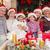 happy extended family looking at camera at christmas time stock photo © wavebreak_media