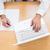 biznesmen · wpisując · biuro · komputera · ręce - zdjęcia stock © wavebreak_media