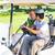 golfozás · barátok · vezetés · golf · napos · idő · golfpálya - stock fotó © wavebreak_media