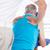 男 · 戻る · マッサージ · 医療 · 健康 - ストックフォト © wavebreak_media