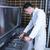 gıda · üretim · makine · fabrika · süt - stok fotoğraf © wavebreak_media