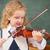 cute pupil playing the violin stock photo © wavebreak_media