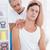 médico · cuello · ajuste · médicos · oficina · mujer - foto stock © wavebreak_media