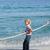 陽気な · 家族 · 演奏 · 戦争 · ビーチ · 女性 - ストックフォト © wavebreak_media
