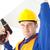 radosny · elektryk · moc · plan · pracy - zdjęcia stock © wavebreak_media