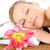 ritratto · massaggio · spa · fiore · mano - foto d'archivio © wavebreak_media