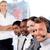 kaukasisch · manager · leidend · vertegenwoordiger · team · kantoor - stockfoto © wavebreak_media