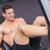 筋肉の · 男 · 作業 · 腹部 · マシン - ストックフォト © wavebreak_media