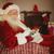 christmas · Święty · mikołaj · ręce · odizolowany · biały - zdjęcia stock © wavebreak_media