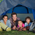 happy family on a camping trip in their tent stock photo © wavebreak_media