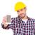 technikus · telefon · tájkép · szemüveg · ír · dolgozik - stock fotó © wavebreak_media