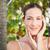 Beautiful natural brunette looking at camera  stock photo © wavebreak_media