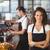официант · кофе · борьбе · ресторан · человека - Сток-фото © wavebreak_media