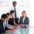 üzletember · dolgozik · csapat · megbeszélés · diák · asztal - stock fotó © wavebreak_media