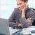 肖像 · 幸せ · 女性実業家 · 作業 · ノートブック · オフィス - ストックフォト © wavebreak_media