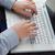 手 · 入力 · ノートパソコンのキーボード · ビジネスマン · ビジネス · コンピュータ - ストックフォト © wavebreak_media