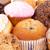 kekler · glasaj · şekeri · beyaz · gıda · çikolata · arka · plan - stok fotoğraf © wavebreak_media