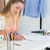 female fashion designer working on her designs stock photo © wavebreak_media