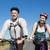 actief · paar · fiets · platteland · vrouw - stockfoto © wavebreak_media