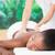 pretty · woman · massaggio · donna · corpo - foto d'archivio © wavebreak_media
