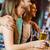 друзей · Бар · портрет · счастливым · очки - Сток-фото © wavebreak_media