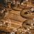 кадр · деревянный · стол · текстуры · древесины · столе - Сток-фото © wavebreak_media