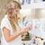 bastante · mulher · loira · perfumaria · shopping · leitura · feminino - foto stock © wavebreak_media