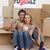 happy couple celebrating with champagne a new house stock photo © wavebreak_media