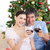 mutlu · çocuklar · Noel · zaman · ağaç - stok fotoğraf © wavebreak_media